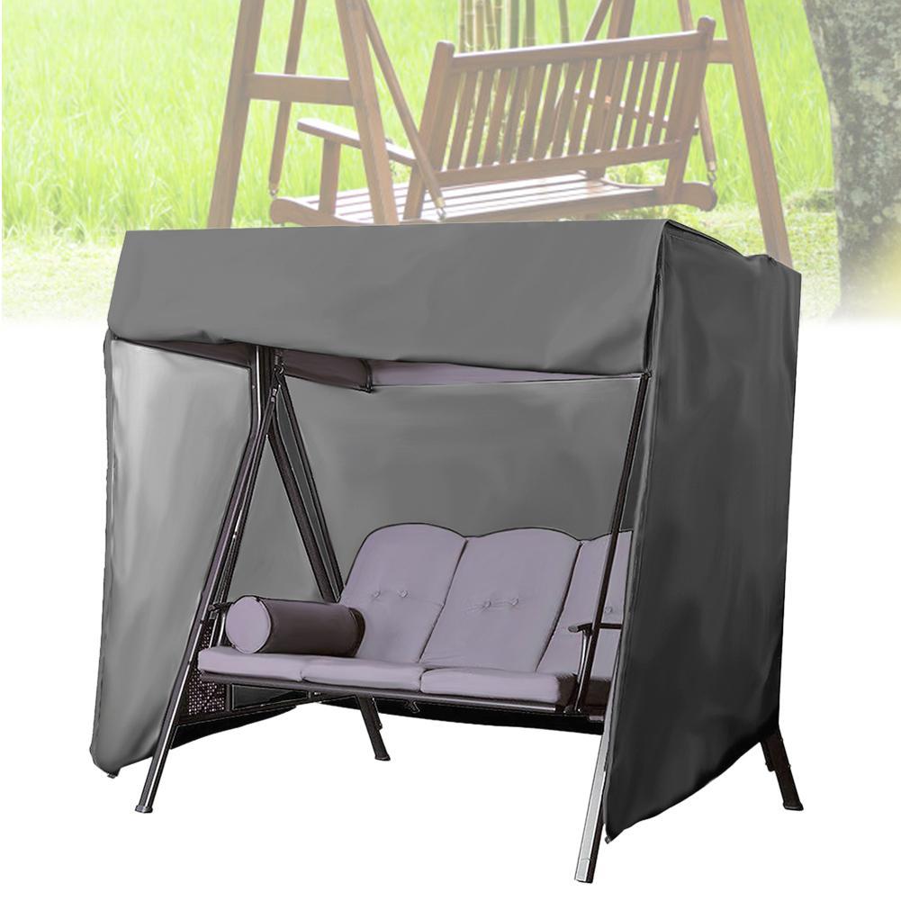 Balançoire extérieure robuste couverture étanche jardin Patio hamac chaise meubles d'extérieur UV pluie poussière protecteur housse de siège