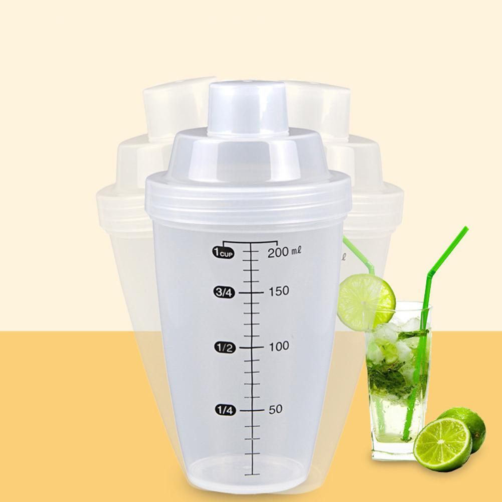 20ml Shake Cup Protein Powder Milk Tea Cup With Scale Shake Cup Exercise Fitness Cup Wine Glass for Home Use image