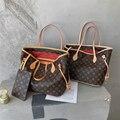 Дизайнерские сумки с принтом для женщин 2021, модная вместительная сумка для покупок через плечо, роскошная Брендовая женская сумка-тоут из и...