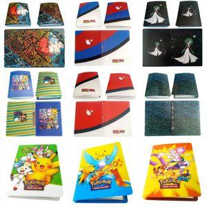 Image 5 - Nouveaux Styles 80/240 pièces support Album jouets pour nouveauté cadeau Pokemones cartes livre Album