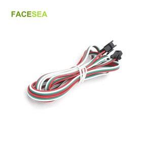 Светодиодный 3-контактный разъем JST SM, 10 шт., 20 шт., 3-контактный светодиодный кабель-коннектор 50 см, 1 м, 2 м