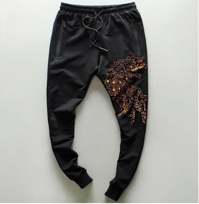 Sport Sweatpants Casual  Joggers Trousers Fashion Hip Hop Streetwear Pants Male
