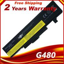 Аккумулятор для ноутбука IdeaPad серии G580 для LENOVO L11S6Y01 L11L6Y01 Z380 Z380AM Y480 G480 V480 Y580 G580AM