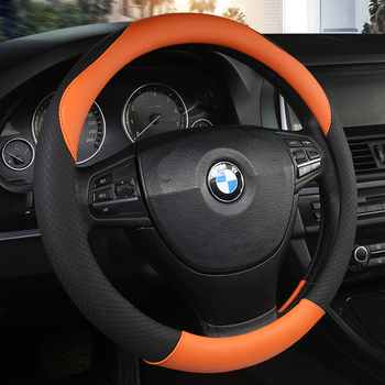 Sport Car Steering Wheel Cover Pu Leather Auto Steering Covers Universal cars wheel covers Car Inter Accessories hot sale car steering wheel cover ethnic style car steering wheel covers car accessories linen universal pretty ethnic style