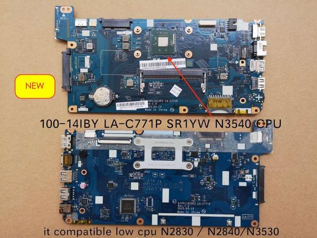 Original Tested LA C771P For LENOVO 100 14IBY Laptop PC motherboard