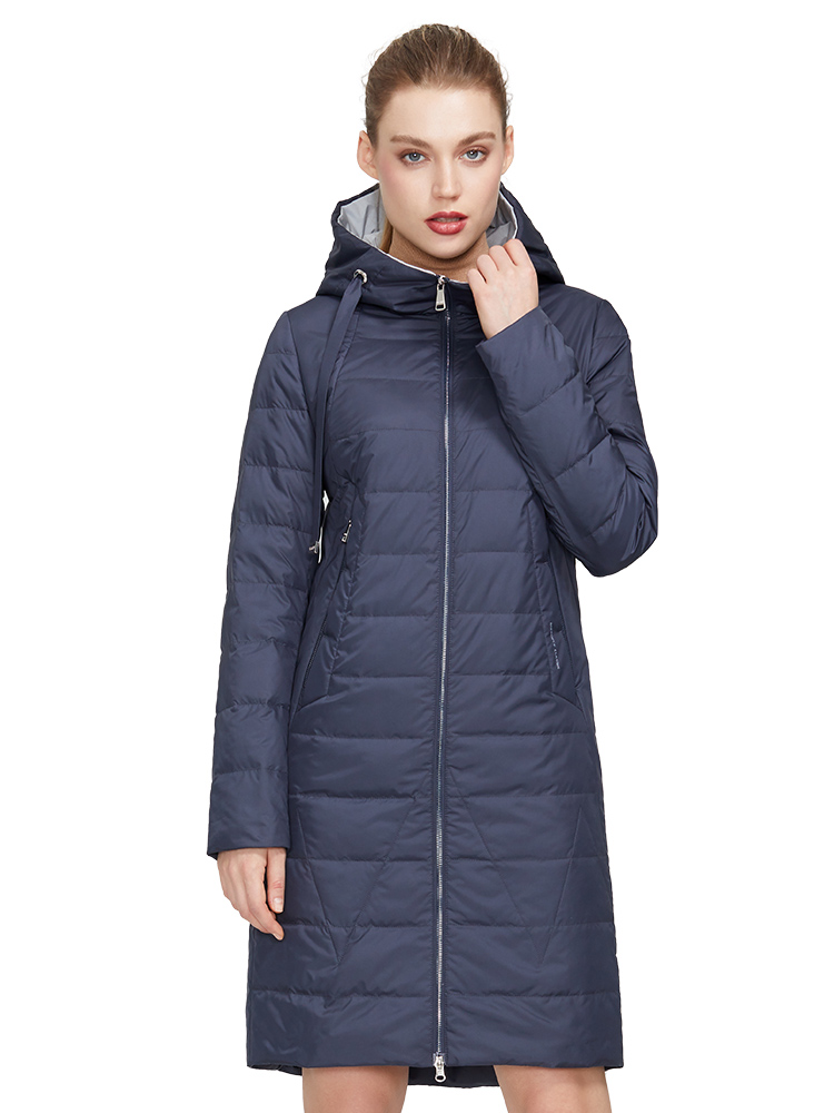 MIEGOFCE Coat Jacket Parka Spring Warm American Women's European And Windproof Model