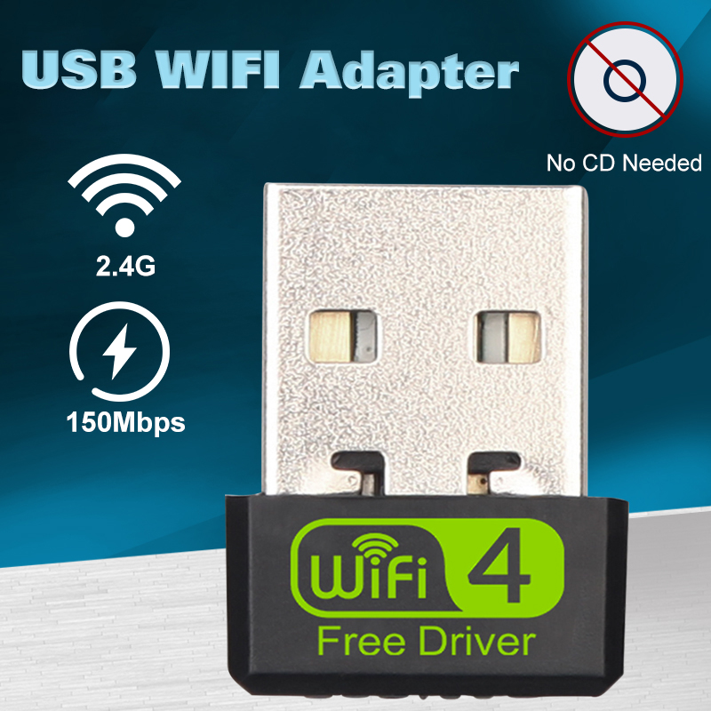 Usb Wifi Adapter Ethernet Lan Wireless 802.11n Laptop Desktop Dongle Card Antena Adaptador 2.4g 5g Wi Fi Receiver Wi-fi 5g Mini