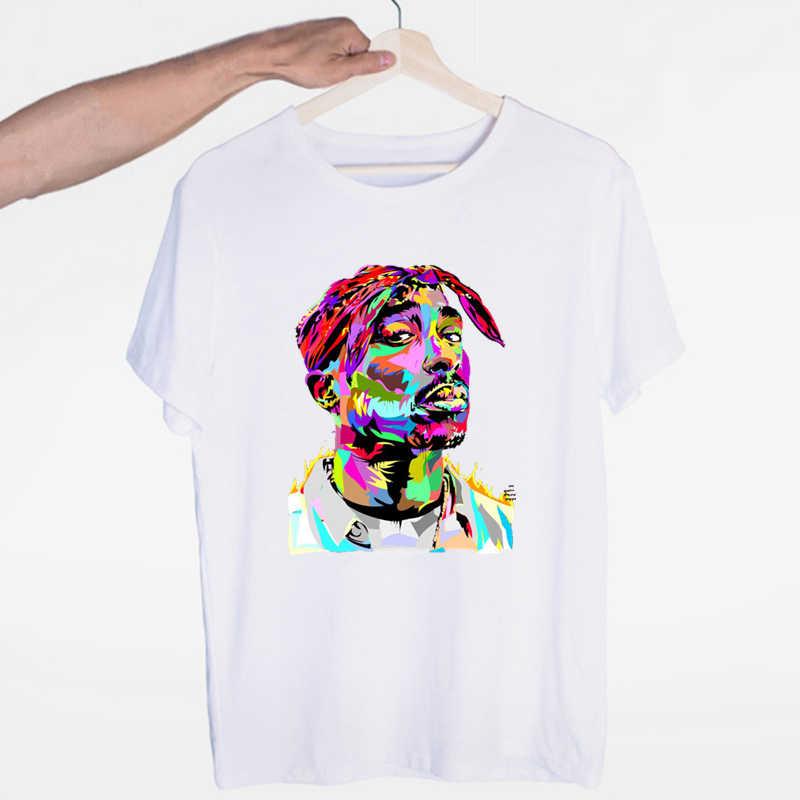 トゥパック 2pac ヒップホップの盗品原宿ストリート Tシャツ O ネック半袖夏カジュアルファッションユニセックス男性と女性の Tシャツ