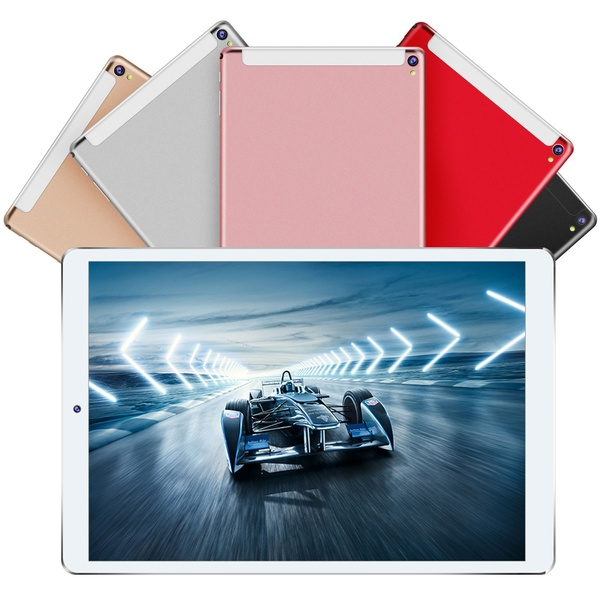 2020 10.1 Inch Ten Core 4G Network WiFi Tablet PC 6+128GB Android 8.1 Arge 1280*800 IPS Screen Dual SIM Dual Camera Rear