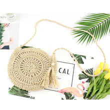 Fashion Women Straw Bag Summer Beach Female Woven Bag Shoulder Bag Tote Shoulder HandBag Casual yubird brand simple canvas casual tote fashion women shoulder bag female handbag fresh all match cloth tote bag handbag