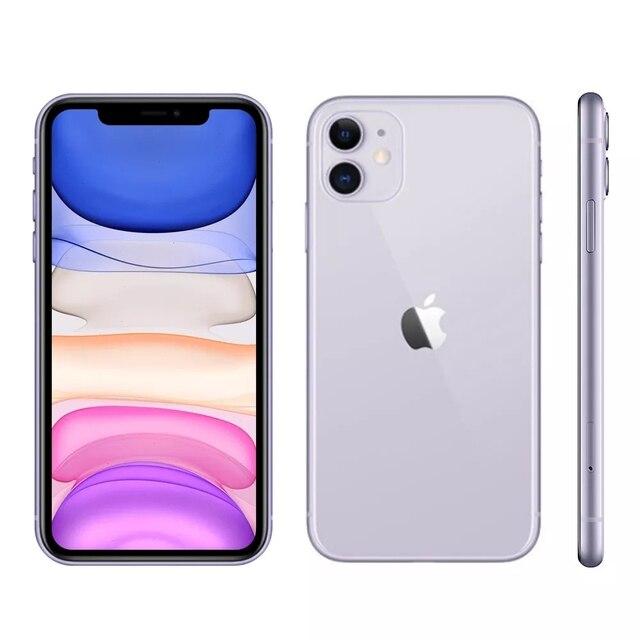 "iPhone 11 Apple (64GB) Preto Tela 6,1"" 4G Câmera 12MP iOS 1"
