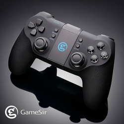 GameSir T1s Bluetooth 4.0 and 2.4GHz Wireless Gamepad Mobile Game Controller for Android / PC / PS3 / SteamOS PUBG Joystick