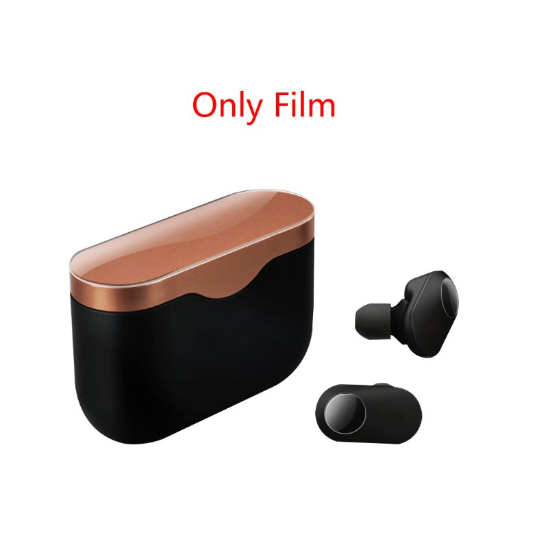 1Set High Transparent Protective Film Sleeve Skin Protector For Sony WF-1000XM3 N0HC