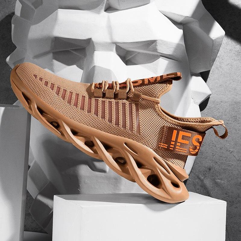2020 Nieuwe Mannen Loopschoenen Schokabsorptie Kussen Ademend Lichtgewicht Comfortabele Schoenen Outdoor Sport Sneakers Wandelen|Hardloop Schoenen|   - AliExpress