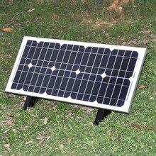 Solar Panel 120w 12v Zonnepaneel 12 volt 20 watt 6 Pcs  Charging Phone Portable Battery Charger Hiking Camping Car