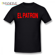 Orange Is The New Black T Shirt Narcos El Patron T-Shirt 100 Cotton Classic Tee Short Sleeve Graphic Man 6xl Cute Tshirt