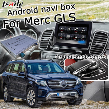 Android / carplay interface box for Mercedes benz GLS class NTG 5.0 GPS navigation video interface mirror link box by Lsailt