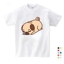 цена на Girls Clothes for Summer T-shirt 3-12 Years O-Neck Short White T Shirt Cartoon Graphic Girls Baby T-shirt Kids Baby T Shirts