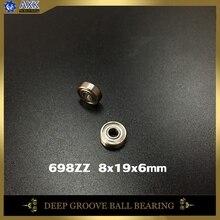 698ZZ Bearing ABEC-5 10PCS 8x19x6 mm Miniature 698Z Ball Bearings 698 ZZ EMQ Z3V3 Quality
