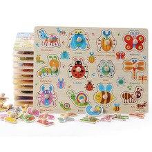 Große Baby Leben Kognition Lernen FlashCards Holz Spielzeug Pädagogisches Spielzeug Anzahl Brief Spiel spiel für 0-24 Monate Spielzeug für Kinder