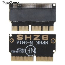 Carte adaptateur NVMe PCI Express PCIE 2013 2014 2015 à M.2 NG-FF SSD, pour Macbook Air Pro A1398 A1502 A1465 A1466