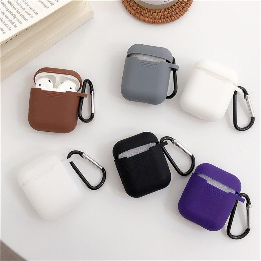 Mini zachte siliconen case voor Apple Airpods shockproof cover voor - Draagbare audio en video - Foto 3