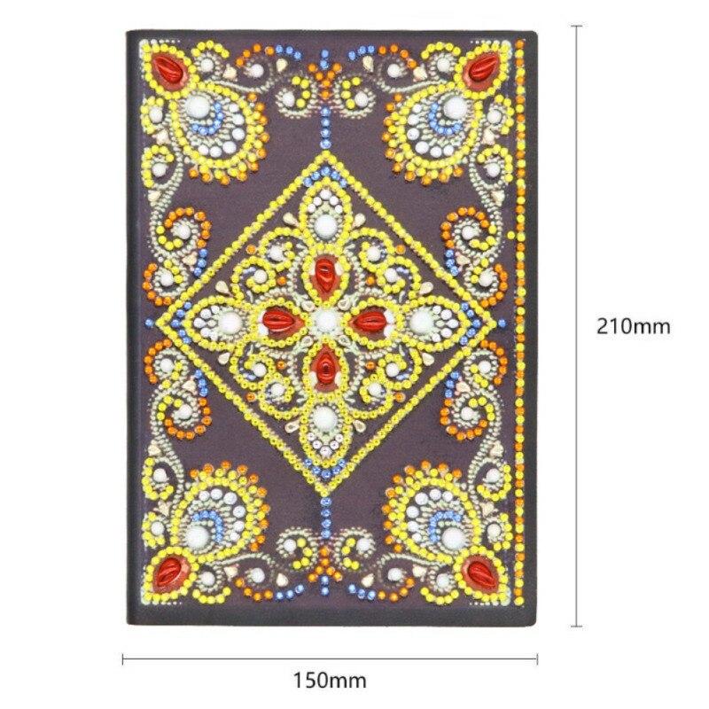Bricolage diamant livre forme spéciale diamant couverture point de croix artisanat 60 A5 enfant et adulte débutant cahier