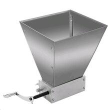 Moedor de malha de aço inoxidável, processador de alimentos grãos inteiros, máquina manual de pó grande