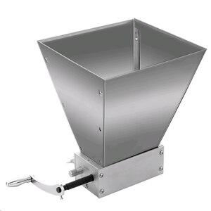 Image 1 - Whole Grains Mill Grinder Food Processors Superfine Large Manual Powder Machine Stainless Steel Malt Corn Food Grinder Manual