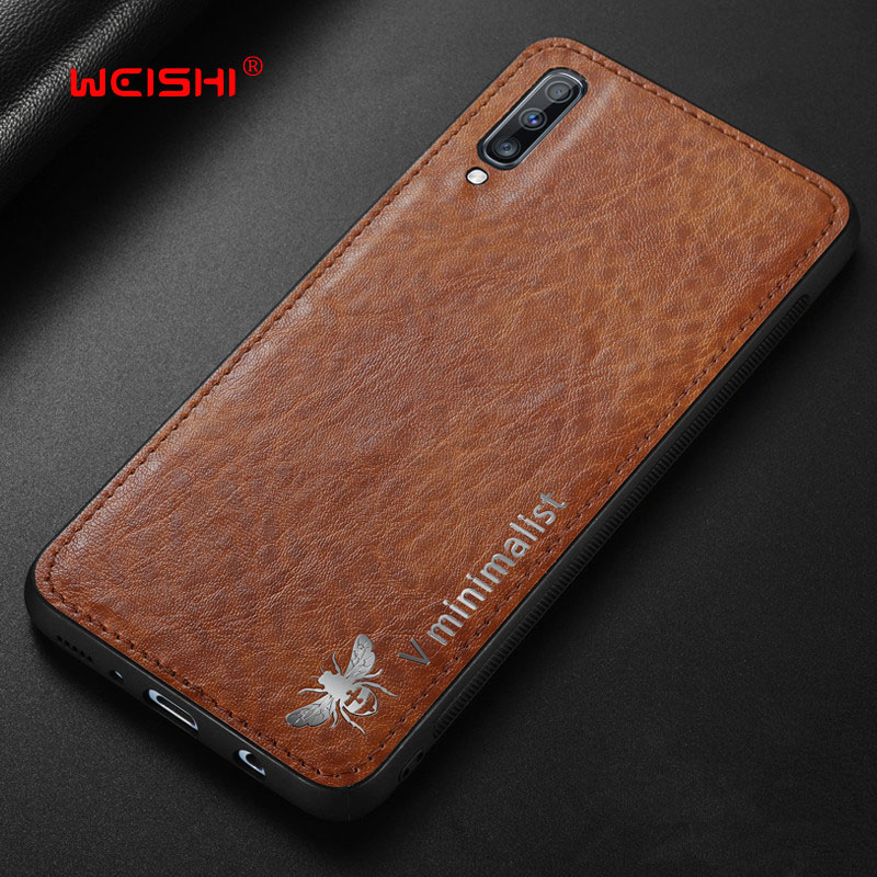 Case For <font><b>Samsung</b></font> Galaxy A70 A60 <font><b>A50</b></font> A30 A20 A10 Luxury Vintage Leather Magnetic Car Hold <font><b>Back</b></font> <font><b>Cover</b></font> For <font><b>samsung</b></font> M10 Case image
