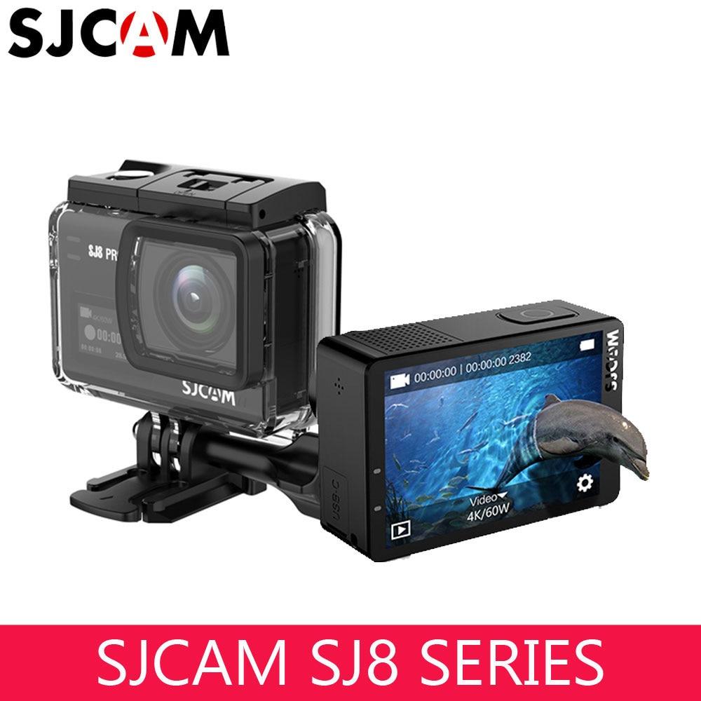 SJCAM SJ8 série caméra d'action SJ8 PRO 4K 60fps écran tactile avec Anti secousse WIFI 1200mAh batterie étanche caméra de sport