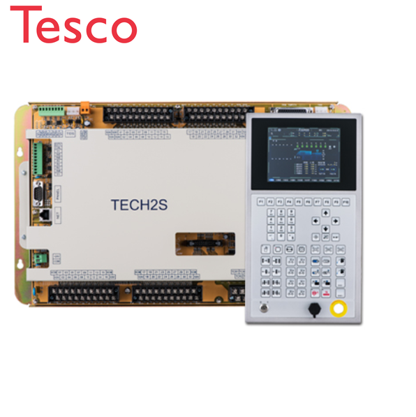 Techmation TECH2 + HMI Q8 PLC Control System For Injection Molding Machine (brand New & Original)