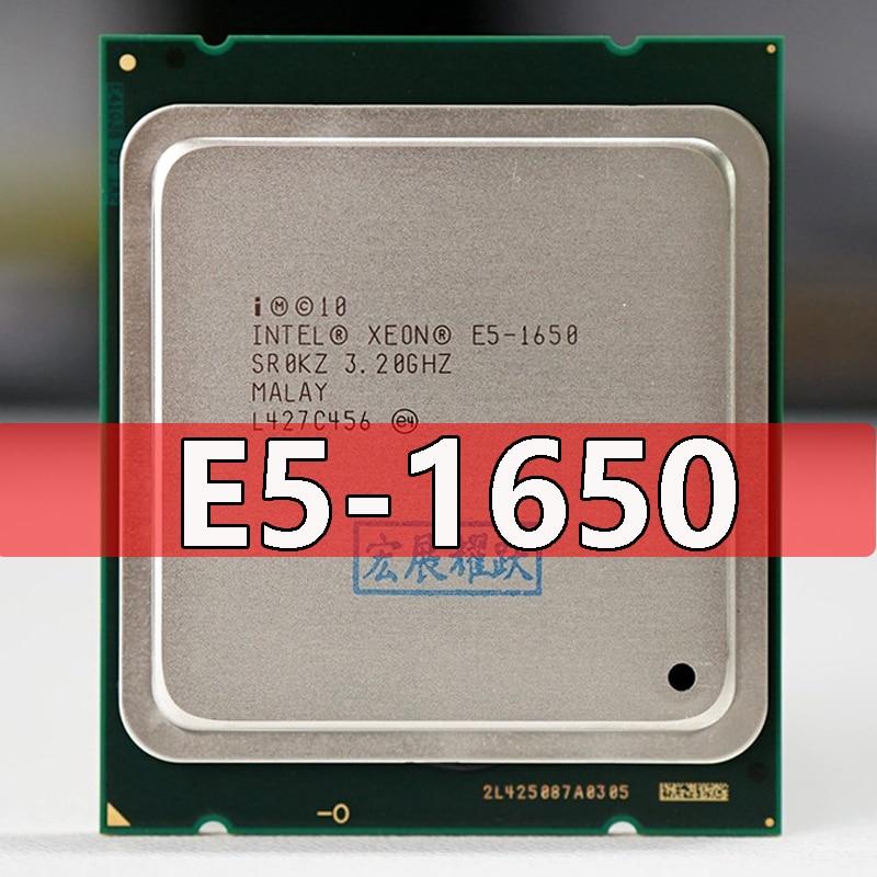 PC Intel Xeon Processor E5 1650 E5 1650CPU (12M Cache, 3.20 GHz, IntelQPI) LGA 2011 SR0KZ C2 Free AliExpress Standard shipping|e5 1650|intel xeon processorintel xeon - AliExpress