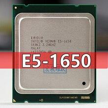 PC Intel Xeon Processor E5 1650 E5 1650CPU (12M Cache, 3.20 GHz,  IntelQPI) LGA 2011 SR0KZ C2 Free  Standard shipping