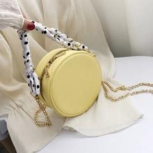 купить Women Bag Messenger-Bag Crossbody-Bag Circular Handbag Female Mini Simple-Design Fashion дешево