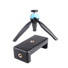 Portable Flexible 360 Degrees Rotation Desktop Mini Camera Tripod Mount Stand With Mobile Phone Holder