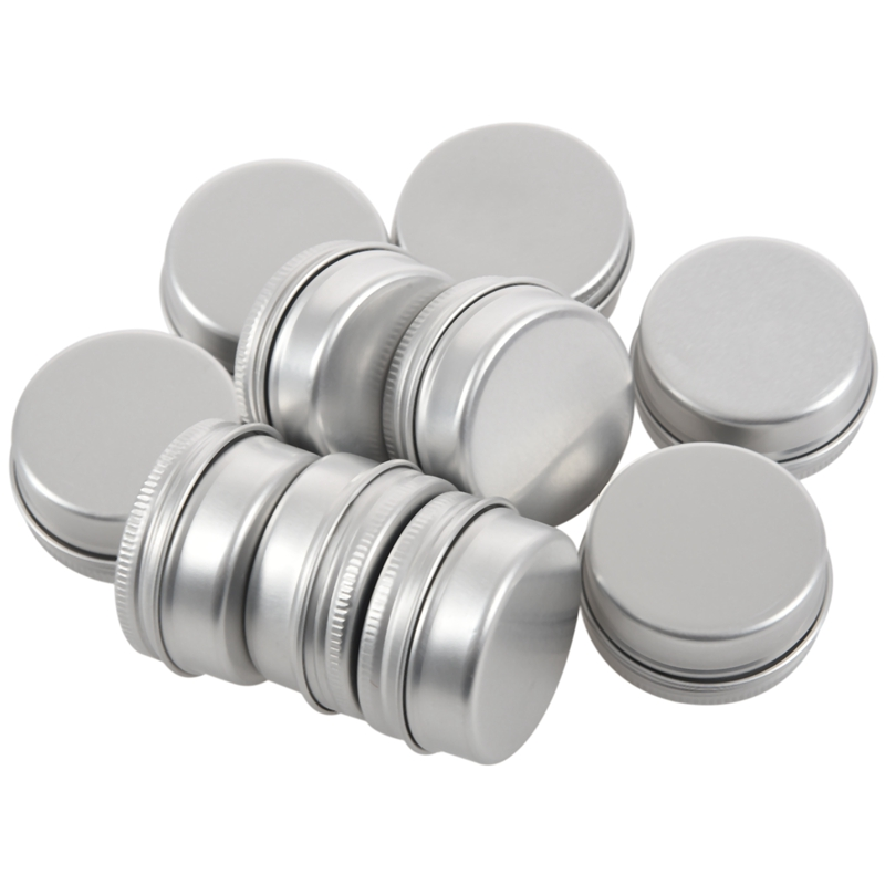 10 Blank 2oz Metal Tin Box Survival Kit Containers whit lined lid Water resistnt in Outdoor Tools from Sports Entertainment