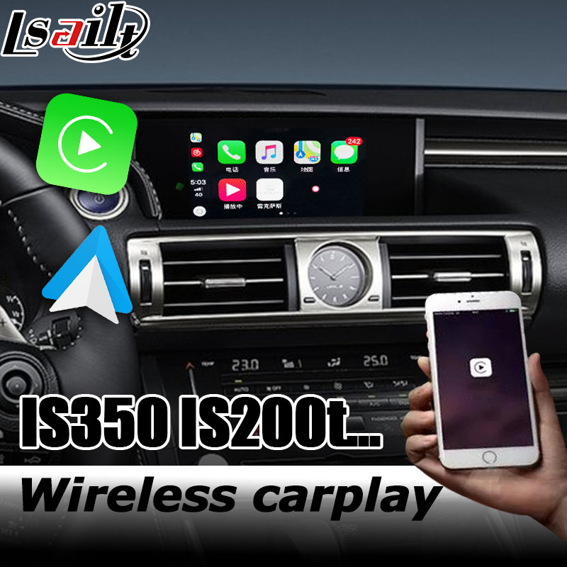 Wireless Carplay Interface Box For Lexus IS 2012-2019 Video Interface Android Auto IS300 IS200t IS350 IS300h By Lsailt