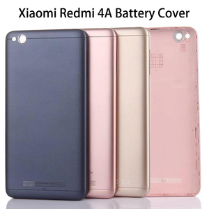 Xiaomi Redmi 4A Battery Cover Rear Door Back Housing Case For Xiaomi Redmi 4A Back Battery Cover Middle Chassis Replacement