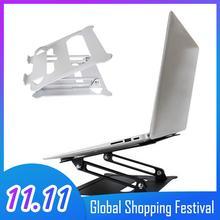 Besegad Universal Laptop Tablet Stand Foldable Adjustable Non Slip Cooling Support Bracket Holder for Macbook Air Pro 13 15
