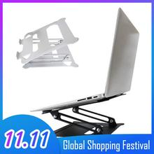 Besegad universal portátil tablet suporte dobrável ajustável antiderrapante suporte de refrigeração suporte para macbook ar pro 13 15