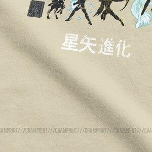 Image 4 - Seiya Evolution camisetas para caballeros del zodiaco, camisetas de manga corta de Anime de los 90, 100% de algodón de talla grande