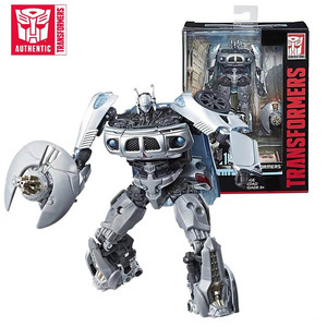 Image 1 - 11cm Transformers Jazz Studio Series Action Figure SS10 PVC Transformation Toys Robot Cars Autobot Christmas Gifts for Children