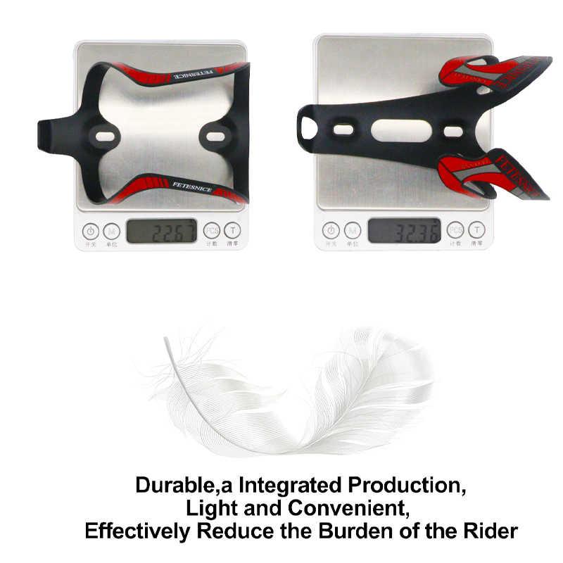MTB Mountainbike Wasser Flasche Halter CNC Aluminium 7075 Ultraleicht Käfig Mit Montage Schrauben Radfahren Fahrrad Zubehör