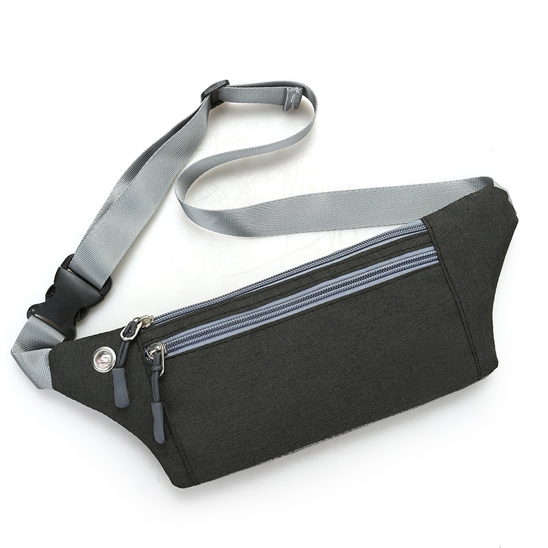 Bag Sports Waist Pack Women's Men's Multi-functional Korean-style Fashion Mini 7-Inch Mobile Phone Hidden Wallet Ultra-Thin Body