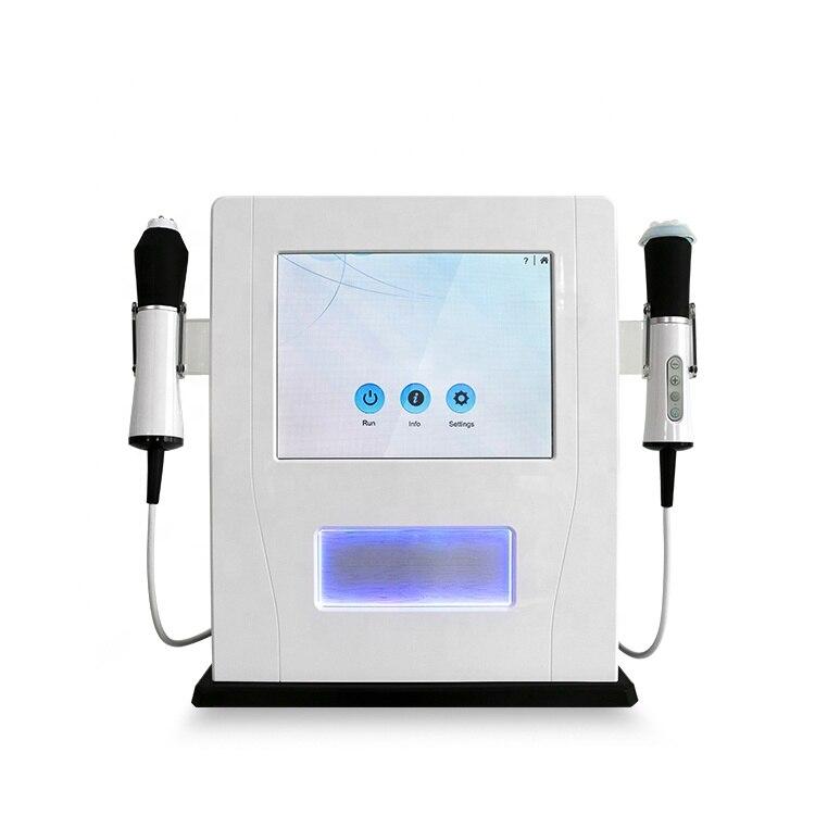 2019 SIVIR 3 Wands 3 IN 1 Oxygen Ultrasound Bubbles Infusion Whitening Oxygen Facial Beauty Machine