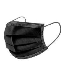50pc máscara descartável máscara de carvão ativado unisex proteção tecido máscara boca