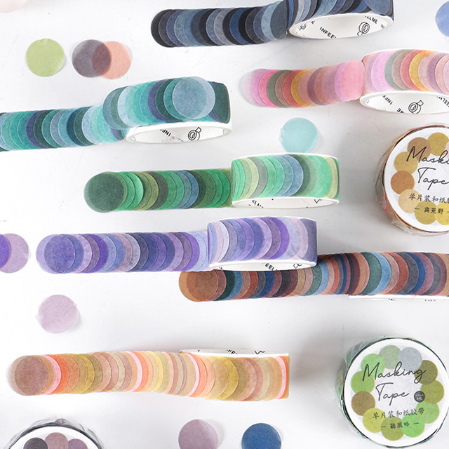 200Pcs//Roll Scrapbook Paper Petals Washi Tape DIY Stickers Diary Book Decor gift