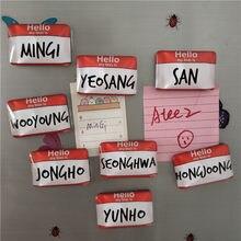 Эпилог «1 kpop ATEEZ TREASURE EPILOGUE»: альбом «экшн-ответ», наклейки с названием холодильника, магнитные периферийные аксессуары
