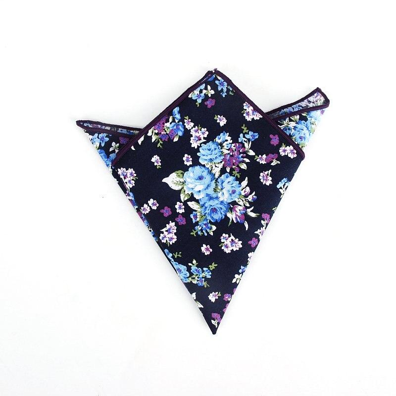 Image 5 - Совершенно новый стиль мужские цветные носовые платки винтажные платки с цветочным узором мужские квадранные Карманные Платки с розами ПейслиМужские галстуки и носовые платки    АлиЭкспресс